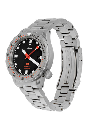 Load image into Gallery viewer, SINN U1 Submarine Steel 44mm Automatic Diver's Watch - Steel Bracelet