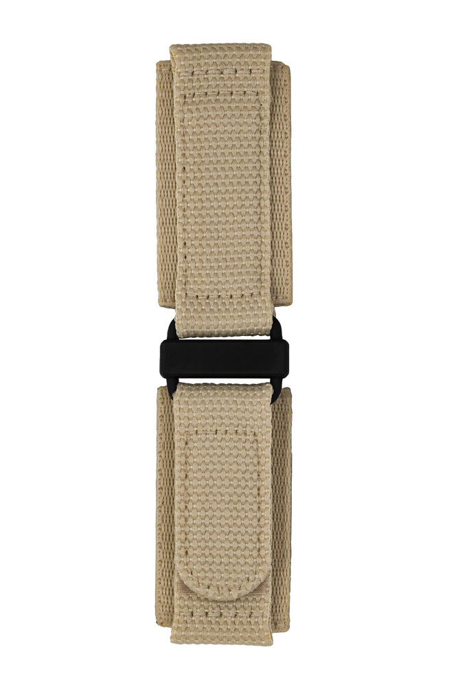 Load image into Gallery viewer, Tactical Hook & Loop Nylon Watch Strap in KHAKI