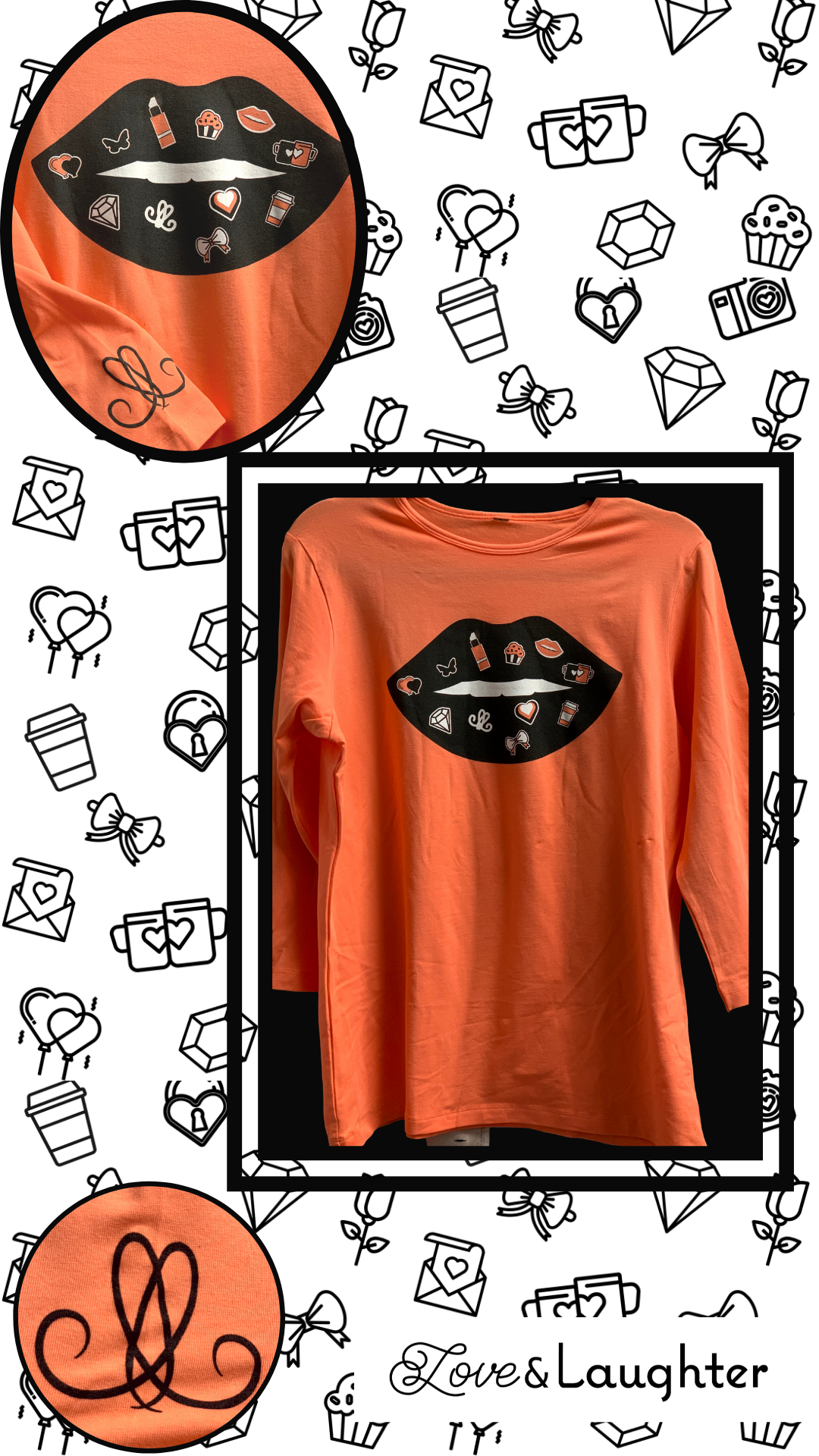 Limited Edition Read My Lips Tee