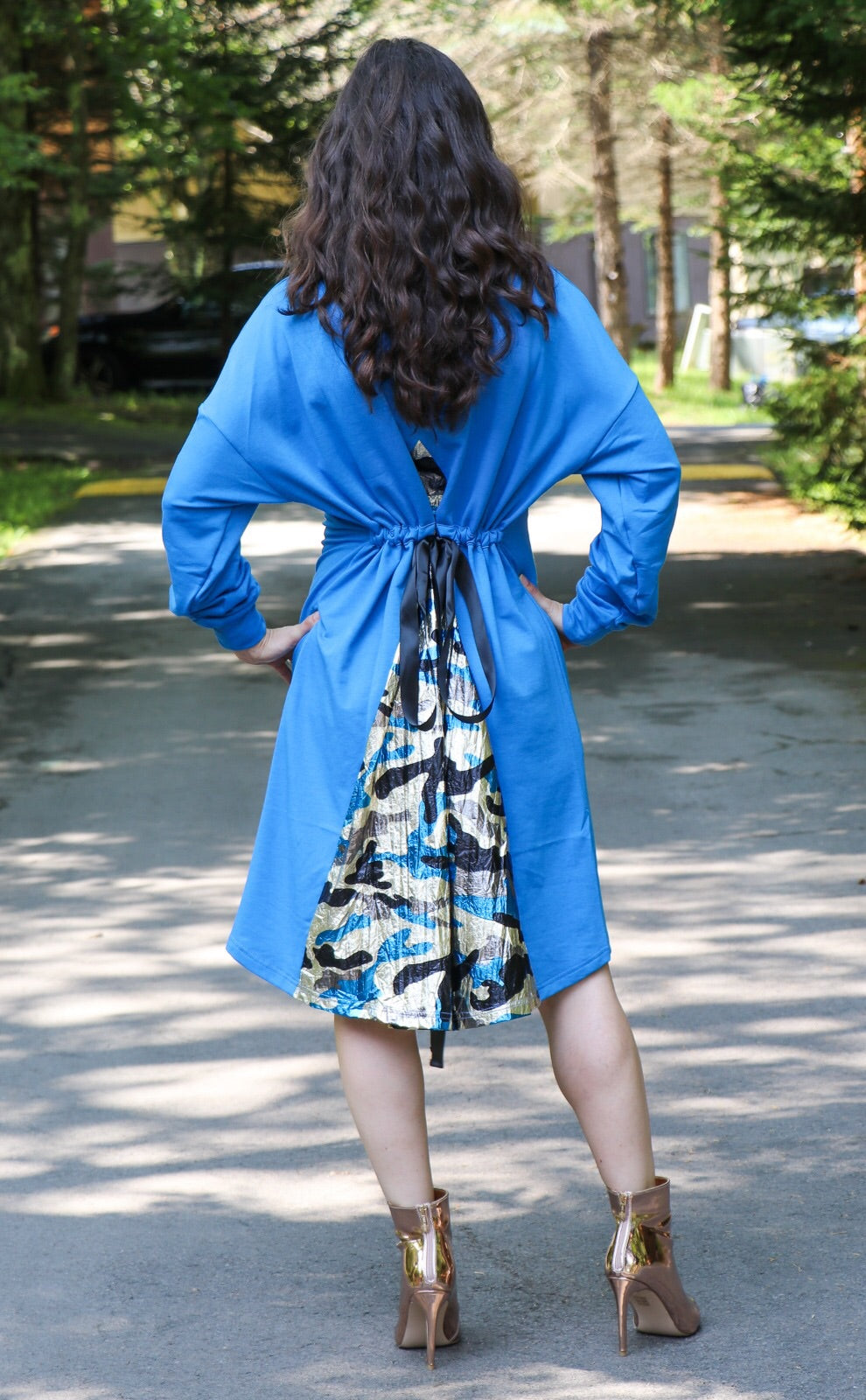 Adina Dress Blue