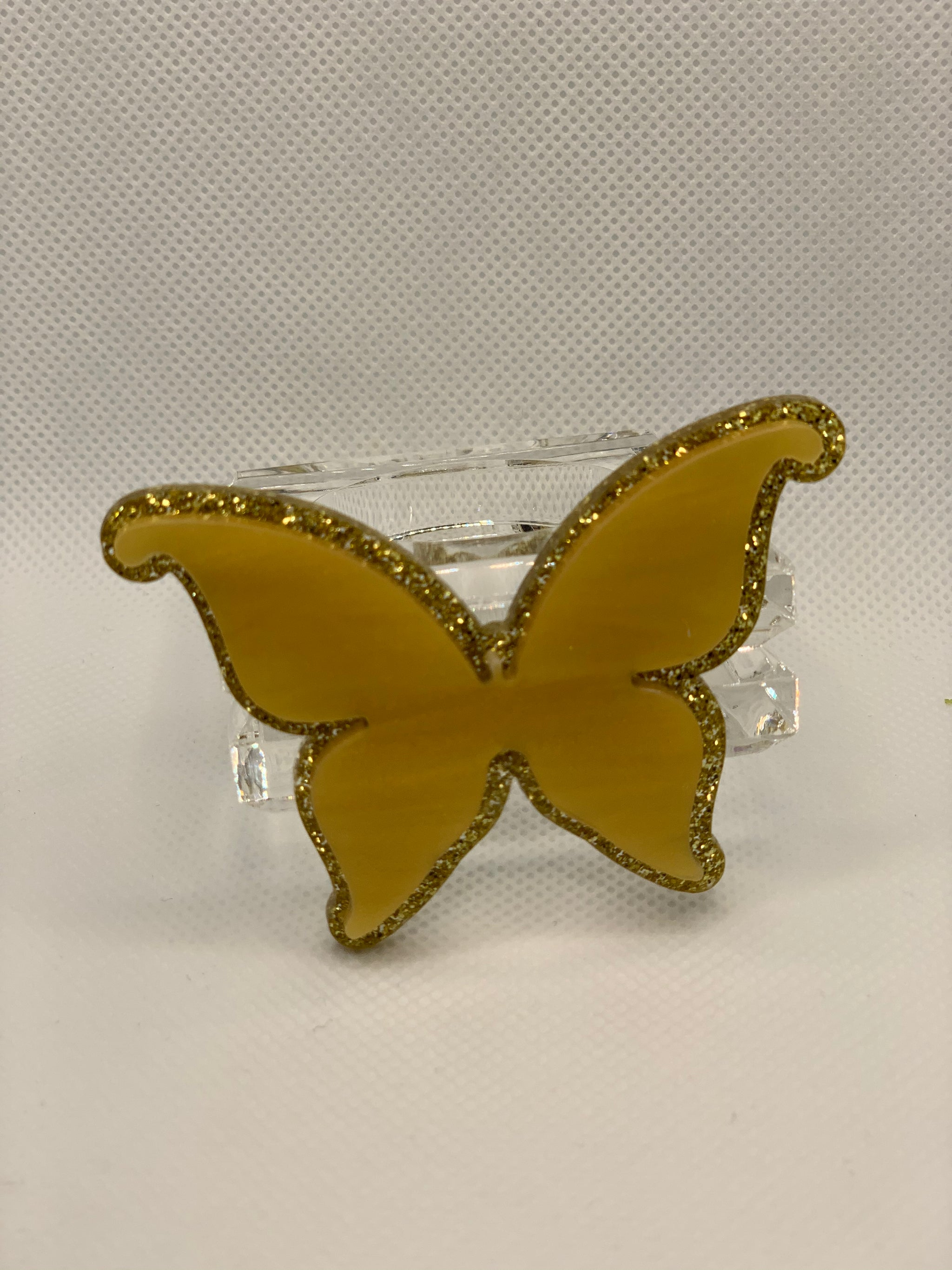 Set Of 4 Butterfly Napkin Rings Love Laughter By Breezy