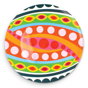 Colorful Large Round Platter