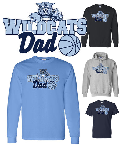 "Wildcats ""DAD"" Apparel"