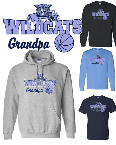 "Wildcats ""GRANDPA"" Apparel"