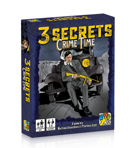 Card Game - 3 Secrets Crime Time - Conundrum House