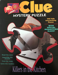 Rental - Clue Mystery Jigsaw Puzzle Game: Killers in the Kitchen - Conundrum House