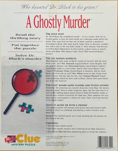 Rental - CLUE Mystery Puzzle: A Ghostly Murder