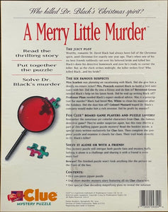 Rental - CLUE Mystery Puzzle: A Merry Little Murder