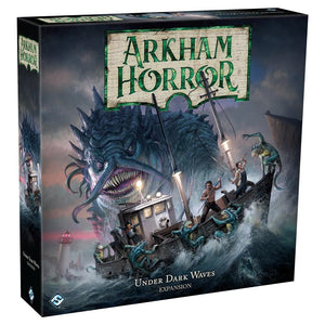 Rental, Board Game - Rental - Arkham Horror: Under Dark Waves - Conundrum House