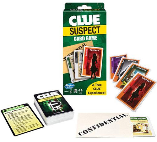 Clue Suspect Card Game - Conundrum House