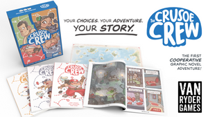 The Crusoe Crew, a Cooperative Graphic Novel Adventure - Conundrum House
