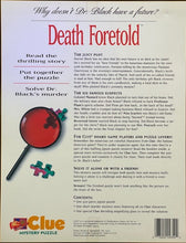 Load image into Gallery viewer, Rental - CLUE Mystery Puzzle: Death Foretold