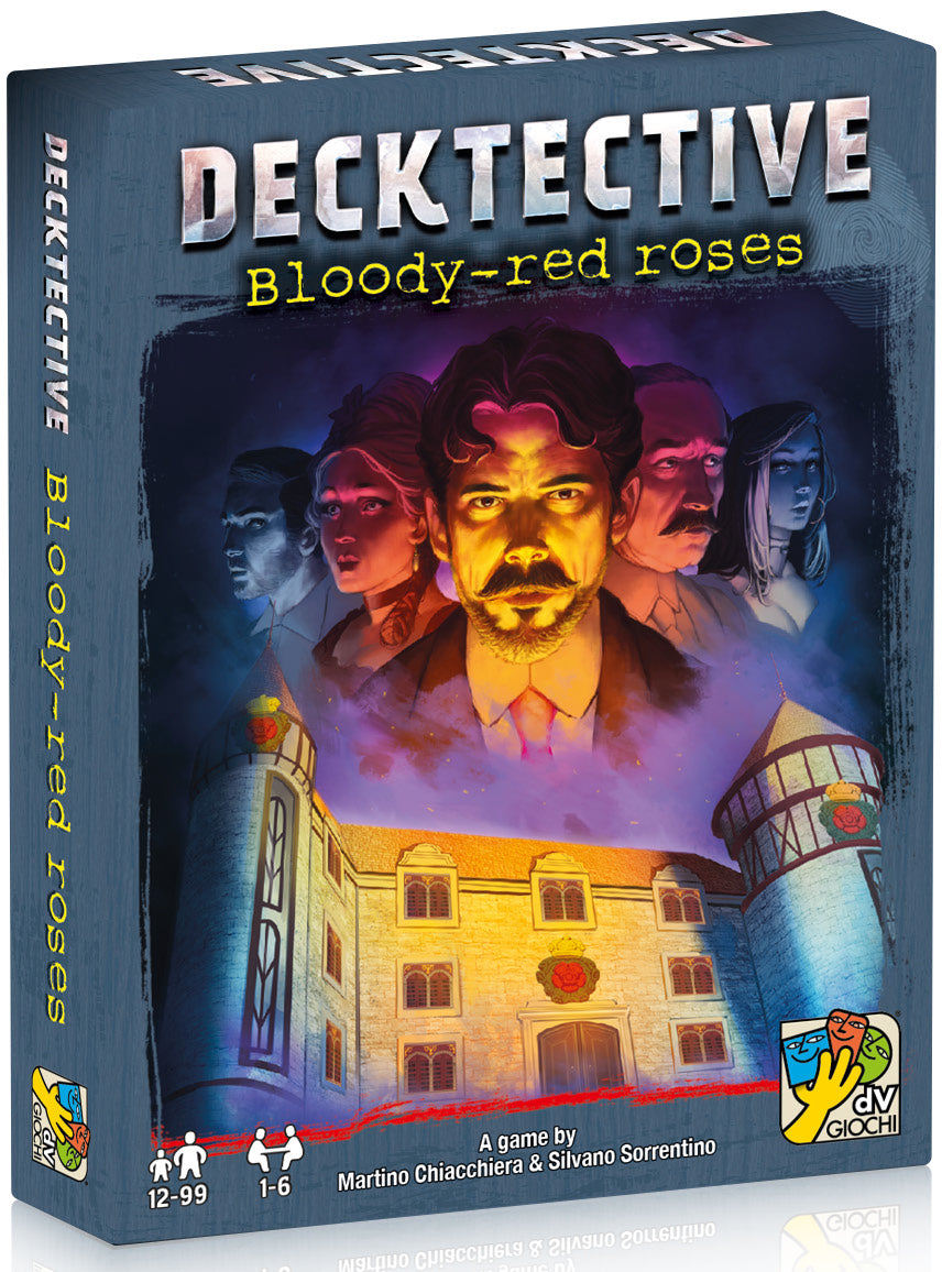 Board Game - Decktective: Bloody Red Roses - Conundrum House
