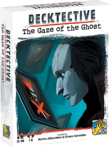 Board Game, Decktective - Rental - Decktective: The Gaze of the Ghost - Conundrum House