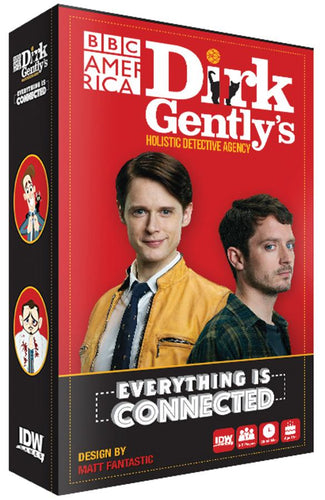 Everything is Connected: Dirk Gently`s Holistic Detective Agency