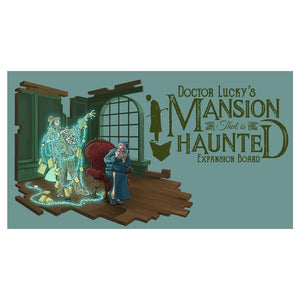 Doctor Lucky: Mansion Haunted Board - Conundrum House