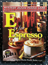 Load image into Gallery viewer, Rental - Alphabet Murder: E is for Espresso - Conundrum House