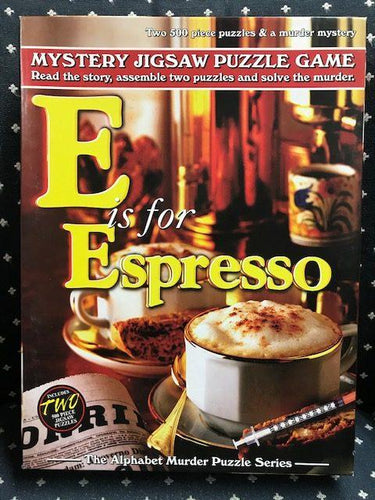 Rental - Alphabet Murder: E is for Espresso - Conundrum House