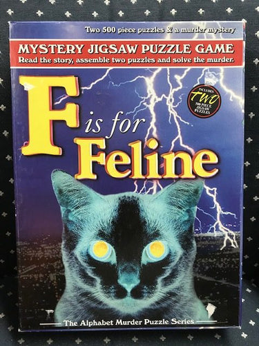 Rental - Alphabet Murder: F is for Feline - Conundrum House