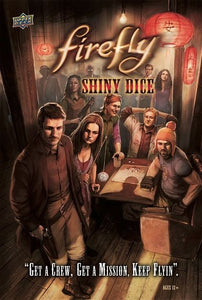 Board Game, Firefly Adventures - Rental - Firefly - Shiny Dice Game - Conundrum House