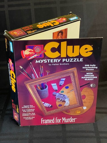 Rental - CLUE Mystery Puzzle: Framed for Murder - Conundrum House