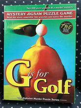 Load image into Gallery viewer, Rental - Alphabet Murder: G is for Golf - Conundrum House