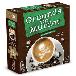jigsaw-puzzle, 1000-pieces - Puzzle: Grounds for Murder 1000 pc - Conundrum House