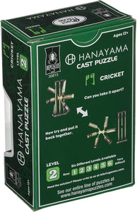Hanayama Puzzle: Cricket Lvl 2 - Conundrum House