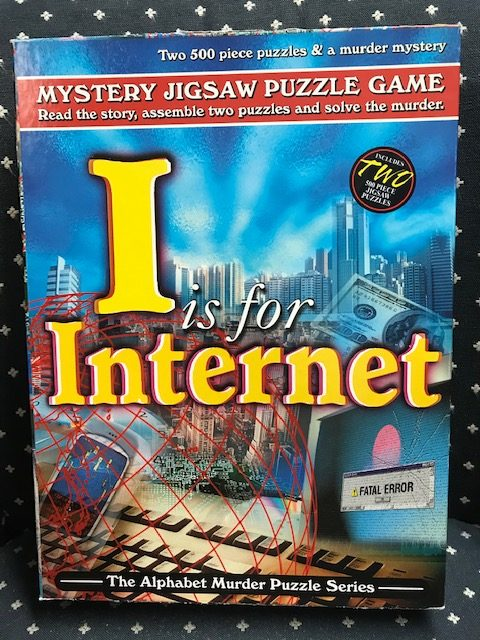 Rental - Alphabet Murder: I is for Internet - Conundrum House