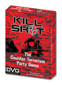 Card Game, Party Game - Rental - Kill Shot - Conundrum House