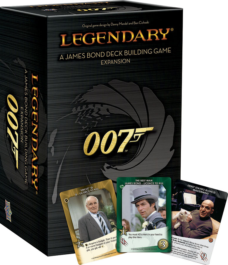 Deck Building, Card Game - Rental - Legendary DBG: 007 - A James Bond Deck Building Game Expansion - Conundrum House