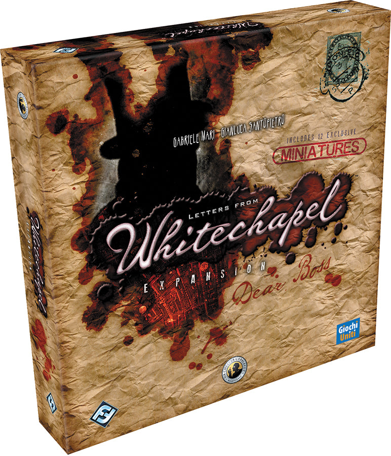 Letters from Whitechapel: Dear Boss Expansion - Conundrum House