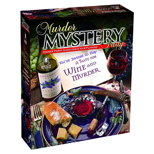 Tabletop Game - A Taste for Wine and Murder - Conundrum House