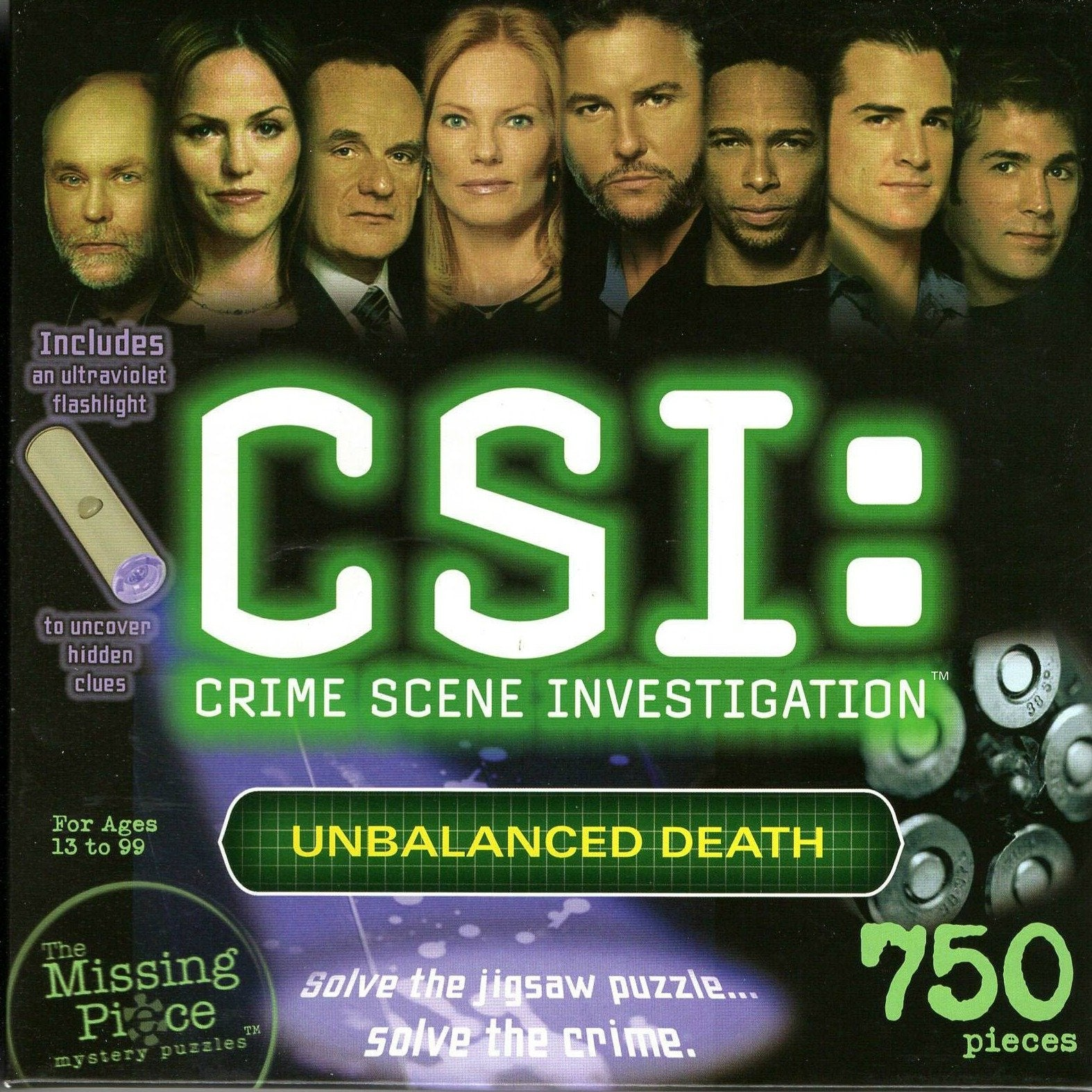 Rental - Missing Piece: CSI - Unbalanced Death - Conundrum House