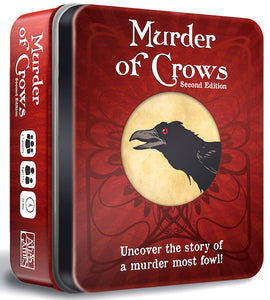 Card Game - Murder of Crows Second Edition Game Tin - Conundrum House