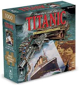 Rental, Mystery Jigsaw Puzzle - Rental - Puzzle: Murder on the Titanic 1000 pc - Conundrum House