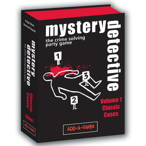 Card Game - Mystery Detective: Vol 1: Classic Cases - Conundrum House