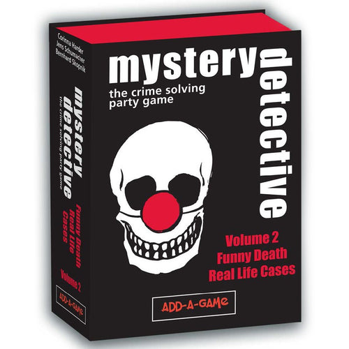 Card Game - Mystery Detective: Vol 2: Funny Cases - Conundrum House