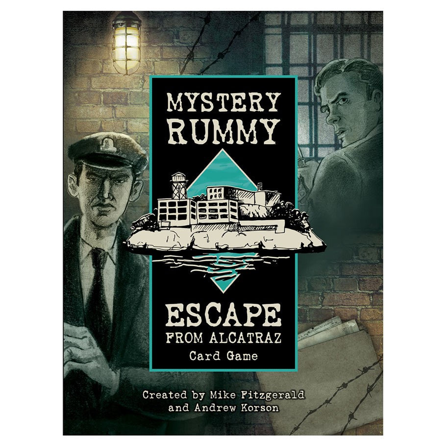 Mystery Rummy: Escape from Alcatraz - Conundrum House