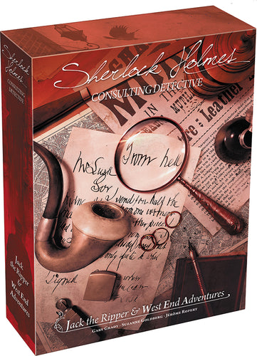 Sherlock Holmes: Consulting Detective - Jack the Ripper and West End Adventures (stand alone or expansion)