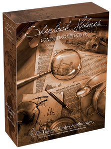 Sherlock Holmes: Consulting Detective - The Thames Murders and Other Cases (stand alone)
