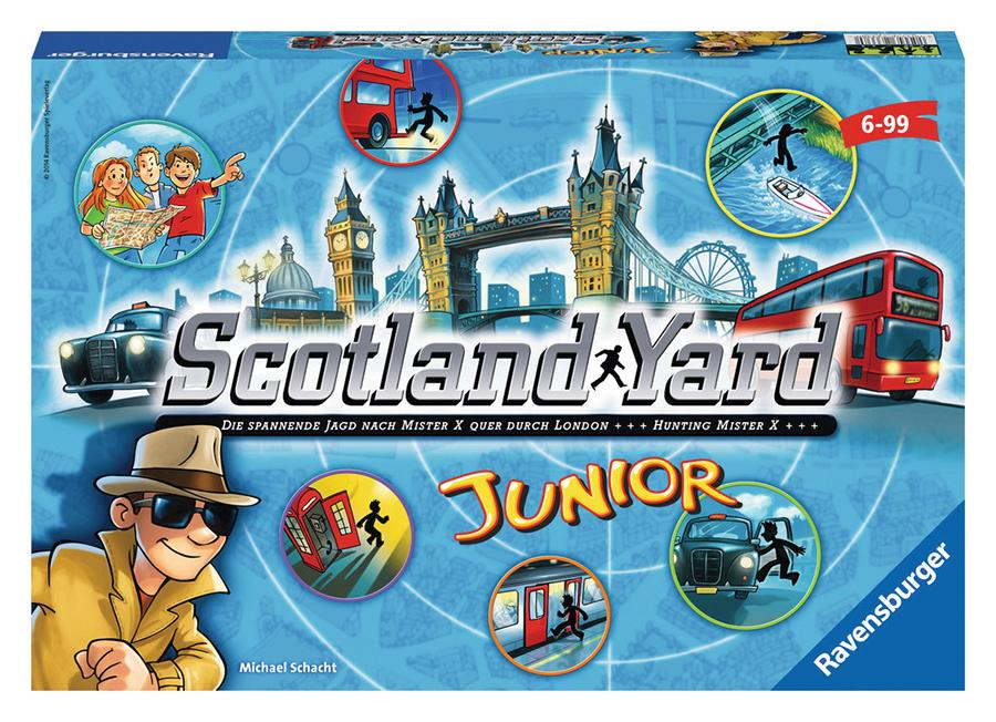 Rental - Scotland Yard Junior - Conundrum House