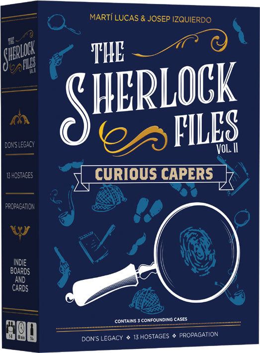 Card Game, Sherlock Files - Rental - Sherlock Files: Vol. II - Curious Capers - Conundrum House