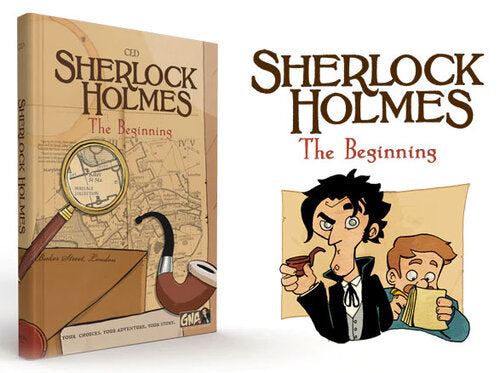 Sherlock Holmes - the Beginning. A Graphic Novel Adventure.