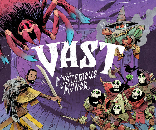 Board Game, Vast - Rental - Vast: The Mysterious Manor (Standalone Game) - Conundrum House
