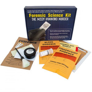 Forensic Science Kit: The Missy Hammond Murder