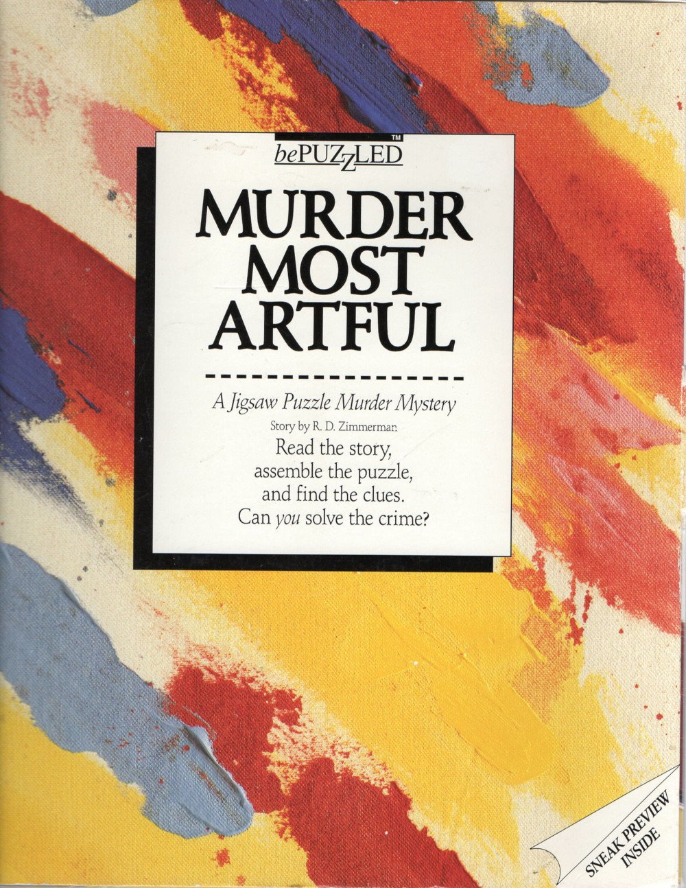 Rental - BePuzzled 500: Murder Most Artful - Conundrum House