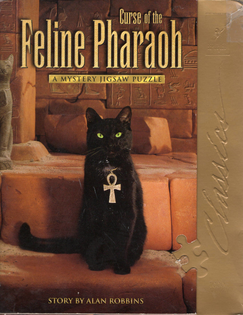 Rental - BePuzzled Classic: Curse of the Feline Pharaoh - Conundrum House