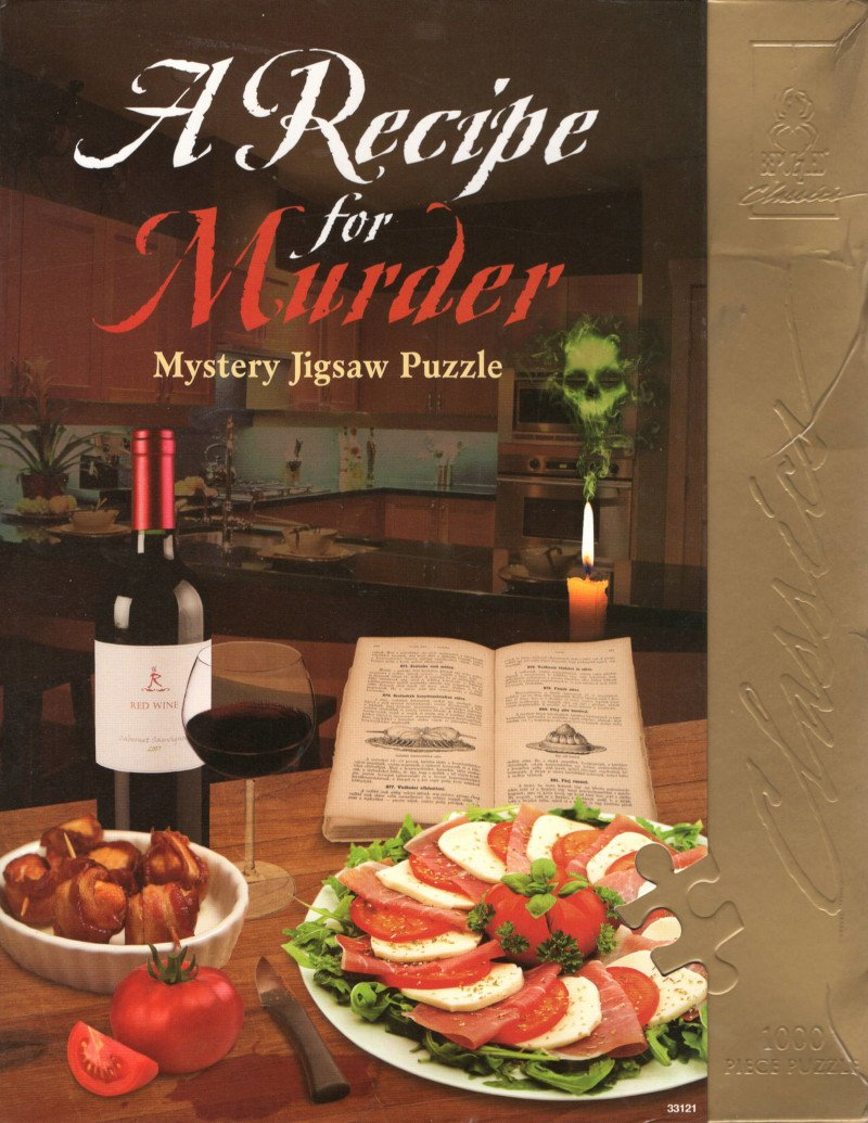 Rental - BePuzzled Classic: A Recipe for Murder - Conundrum House