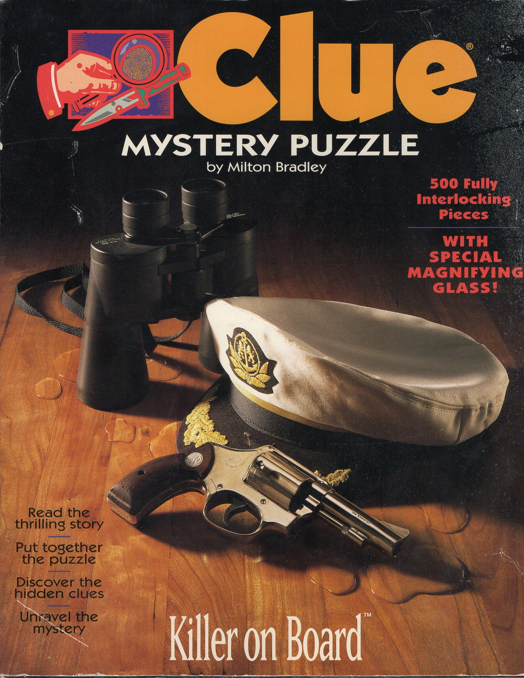 Rental - Clue Mystery Puzzle: Killer on Board - Conundrum House